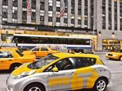 York, arrivano taxi elettrici