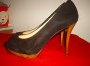 ShoeRoom Oldies: Zara peeptoes suede nera.