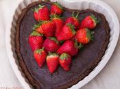 Crostata cioccolato fragole