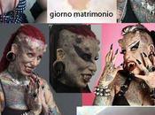 Donna vampiro tatuaggio degli animali