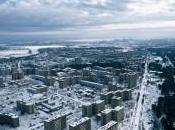 Città abbandonate: città fantasma Pripyat adiacente Chernobyl