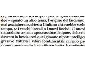 «Mussolini sapeva fare»