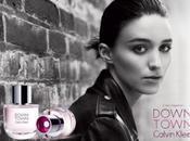 Anteprima Calvin Klein Rooney Mara testimonial della nuova fragranza DownTown