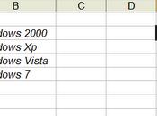 Regole validazione Excel