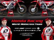 Honda 450R World Motocross Team 2013