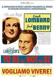 (vogliamo vivere!) Ernst Lubitsch torna cinema!