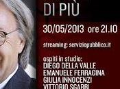 """Questa sera l'ultima puntata stagionale """"Servizio Pubblico"""" Michele Santoro"""