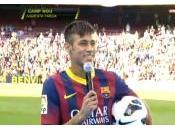 VIDEO LIVE Presentazione Neymar Camp
