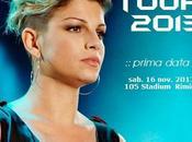 """Emma tour novembre """"Schiena 2013""""."""