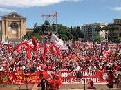 piazza Roma chiede alla sinistra cambiare. anche Fiom