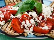 Melanzane grigliate pomodorini feta greca