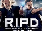 Jeff Bridges Ryan Reynolds agguerriti banner R.I.P.D. Poliziotti dall'Aldilà
