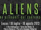 Aliens. forme alienanti contemporaneo tappa, Lecce