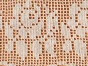 Schemi filet: Bordure lenzuola