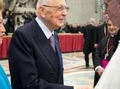 Presidente Napolitano incontra Papa Francesco questa mattina Vaticano: dirette Rai, Tv2000, Telepace, Tgcom24, Tg24