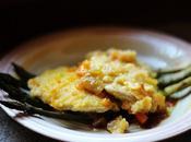 Fettine lonza marinate nell' arancia ragù verdure riduzione aceto balsamico. Slices pork loin marinated 'orange vegetable ragout balsamic vinegar reduction.
