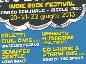 Nosilenz Indie Rock Festival 2013 Brescia Parco Comunale giugno.