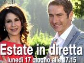 """Oggi """"Estate diretta"""", Marco Liorni Barbara Capponi"""