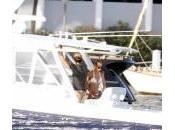 Enrique Iglesias Anna Kournikova sullo yacht Miami