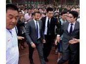 David Beckham Shanghai: scoppia rissa, cinque feriti