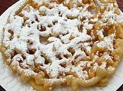 Strauben frittelle dolci tipiche tirolesi, preparate tutte sagre paese.