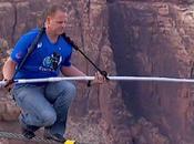 Sospeso filo attraversa Grand Canyon: storica sfida Wallenda stasera onda Discovery Channel (Sky 401, Hd)