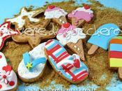 Tuorial biscotti estivi: infradito, gelato stella marina cake.corriere.it