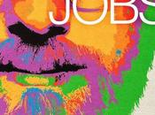 primo piano coloratissimo Ashton Kutcher poster Jobs