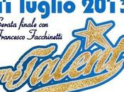 luglio 2013: count down finalissima talent francesco facchinetti.