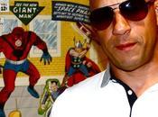 Diesel incontrato Marvel
