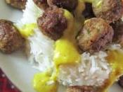 Polpette curry