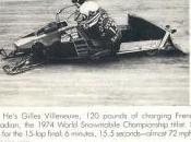 Gennaio 1974: Campione motoslitte