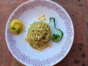 Spaghetti Crema Taccole Gamberoni Mazara