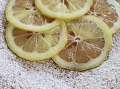 Torta alla pesca tabacchiera limone