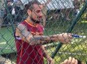 """[VIDEO] Osvaldo tifoso: fatto gol, c***o vuoi?"""""""