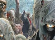 poster fumettistico quarta stagione Walking Dead