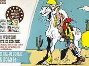luglio serie fumetti Lucky Luke allegato quotidiano Gazzetta dello Sport
