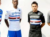 Maglie della Sampdoria 2013-2014, torna colletto