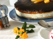 cheesecake yogurt, pesche cioccolato