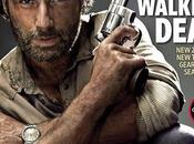 copertina tripla dedicata Walking Dead Entertainment Weekly