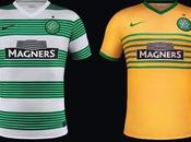 Celtic Glasgow 2013-2014, maglia home away Nike