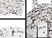 Natale 2010: playing cards signed Lanvin
