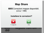 TomTom iPhone aggiorna introduce Share