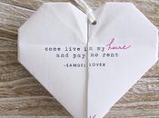 ORIGAMI HEART. cuore aprire mandare degli inviti speciali...