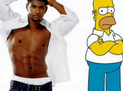 Usher copiato Homer Simpson