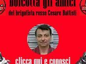 boicotta amici Cesare Battisti brigatista rosso