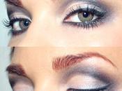 {Trucco grigio Gray makeup}