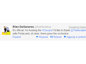 Oscar goes to... Ellen DeGeneres