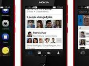 Linkedin Nokia Asha Social Netwok professionale smartphone economico