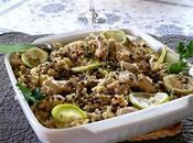 Cuscus pollo lime lenticchie